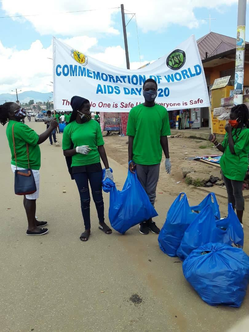 Cleaning of Fort Portal Tourism City